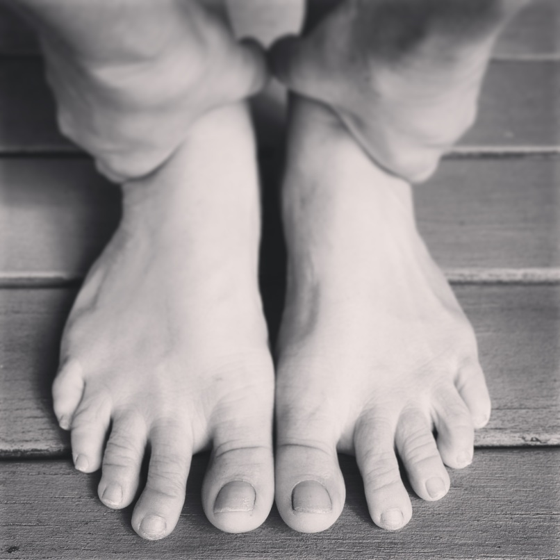 haydie yoga feet